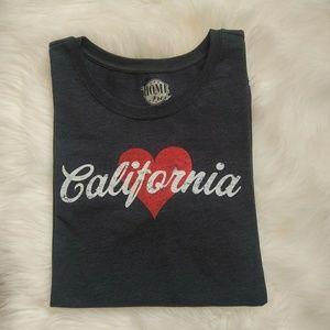 HOME FREE 'California' Shirt Size XL (16/18).
